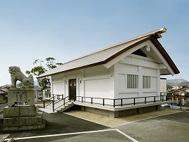 祖霊殿外観の写真