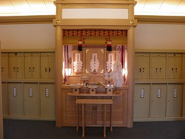 祖霊殿内部の写真1