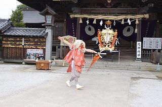 岩戸神楽の写真